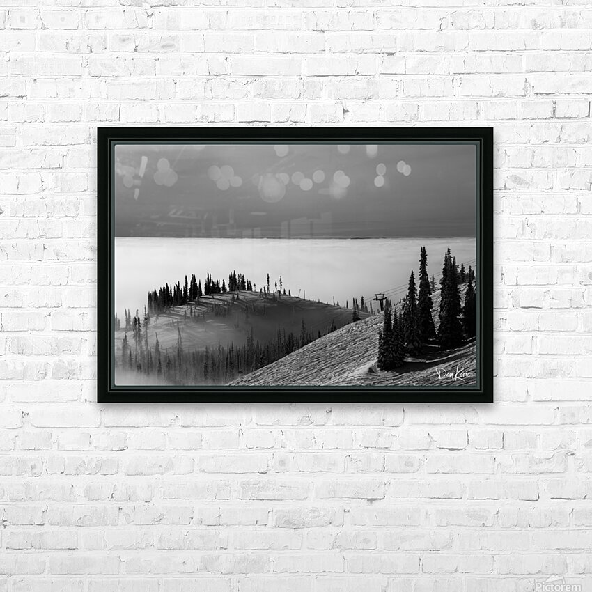 Dec 31 Print 1 HD Sublimation Metal print with Decorating Float Frame (BOX)