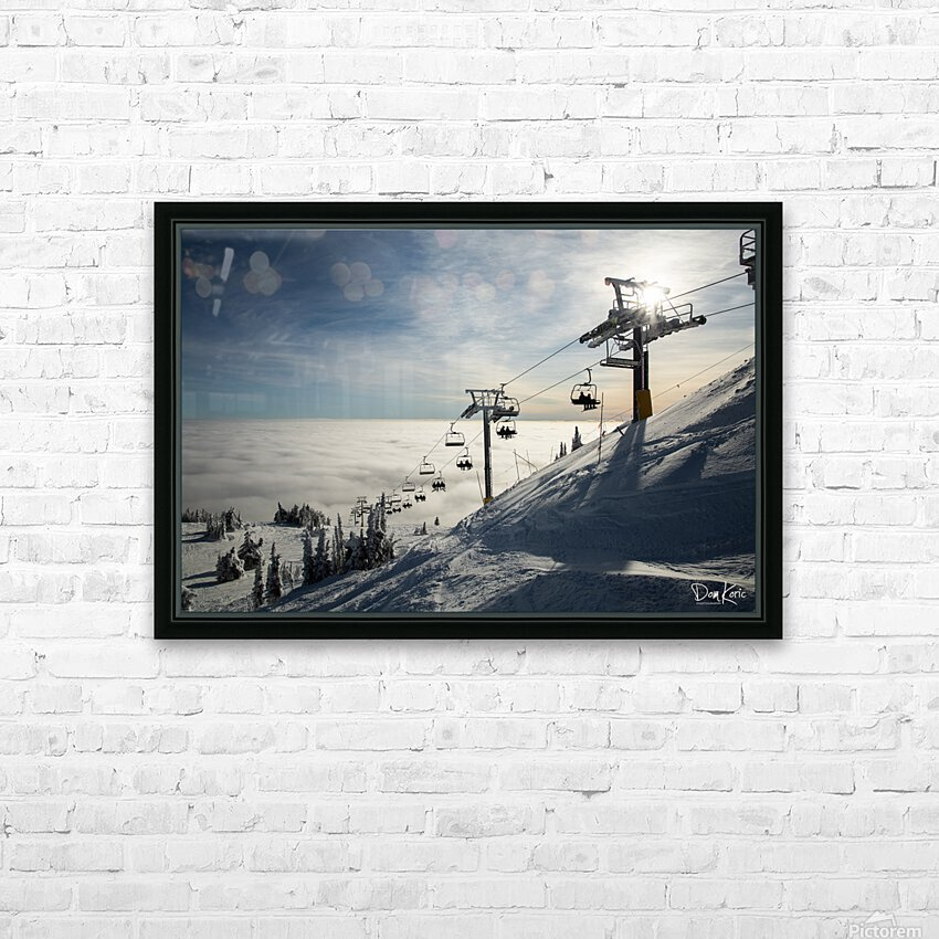 Rising Action HD Sublimation Metal print with Decorating Float Frame (BOX)