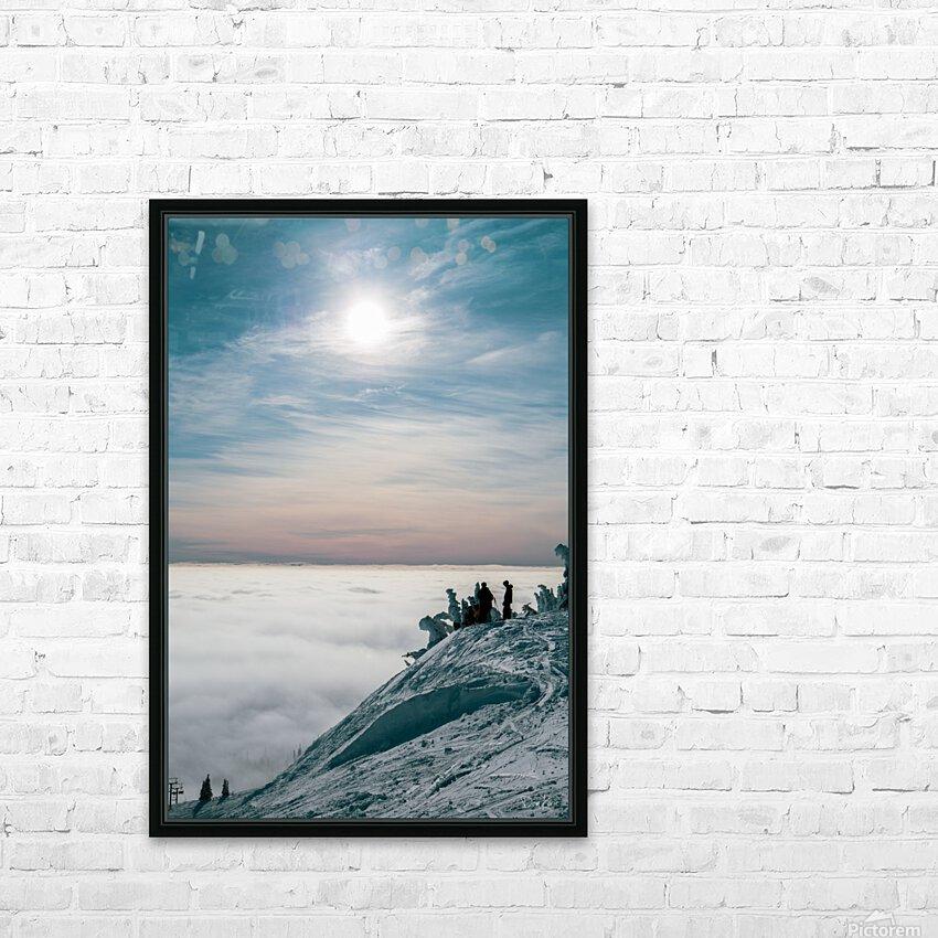 Soft Illumination  HD Sublimation Metal print with Decorating Float Frame (BOX)