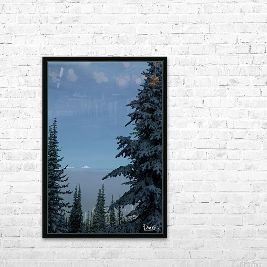 Dec 31 Print 25 HD Sublimation Metal print with Decorating Float Frame (BOX)