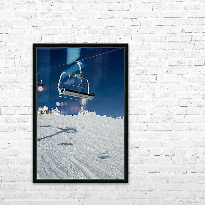 Suspended Prolonging HD Sublimation Metal print with Decorating Float Frame (BOX)