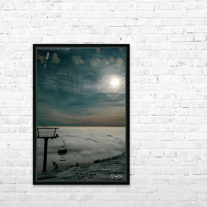 Rising Above HD Sublimation Metal print with Decorating Float Frame (BOX)