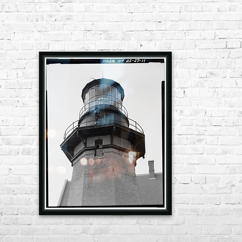 Block Island Southeast Light (Detail) HD Sublimation Metal print with Decorating Float Frame (BOX)