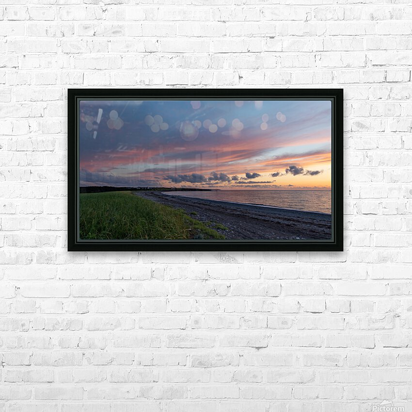 Dreams of Petit Etang HD Sublimation Metal print with Decorating Float Frame (BOX)