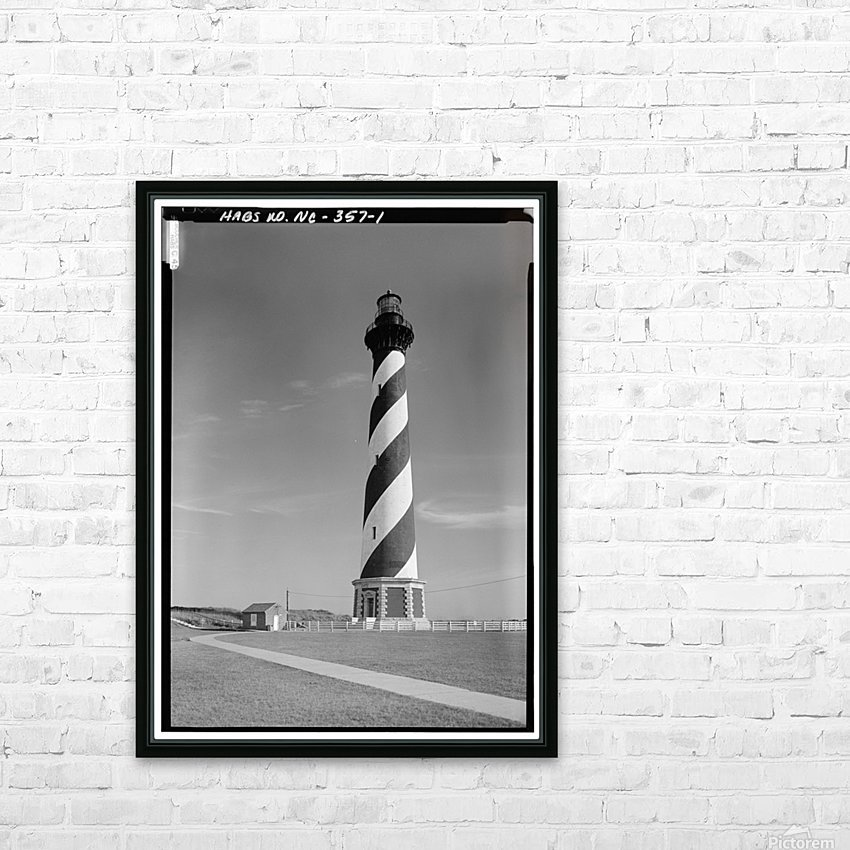 Cape Hatteras Lighthouse, North Carolina HD Sublimation Metal print with Decorating Float Frame (BOX)
