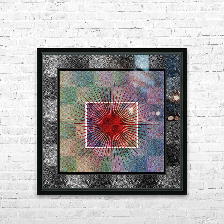 Layers of my Heart HD Sublimation Metal print with Decorating Float Frame (BOX)