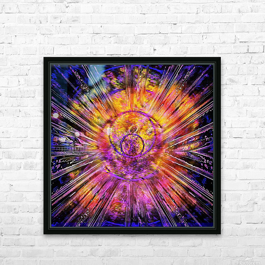 Light Body Activation HD Sublimation Metal print with Decorating Float Frame (BOX)