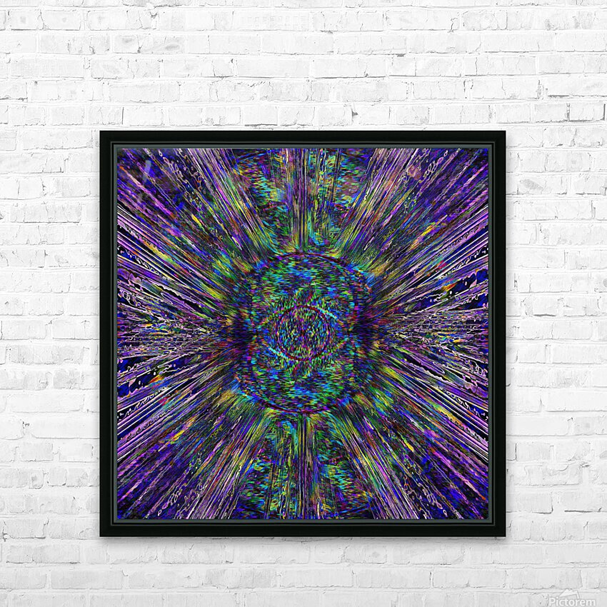 Eye of the Universe HD Sublimation Metal print with Decorating Float Frame (BOX)