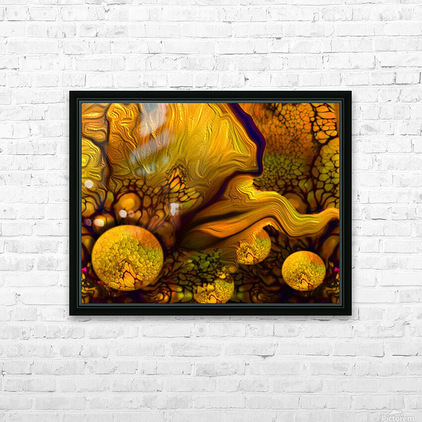 POLLENS SUMMER GLOW 6 HD Sublimation Metal print with Decorating Float Frame (BOX)