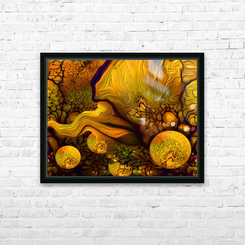POLLENS SUMMER GLOW 5 HD Sublimation Metal print with Decorating Float Frame (BOX)