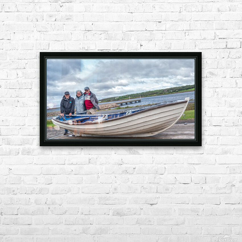 Les Warrecks HD Sublimation Metal print with Decorating Float Frame (BOX)