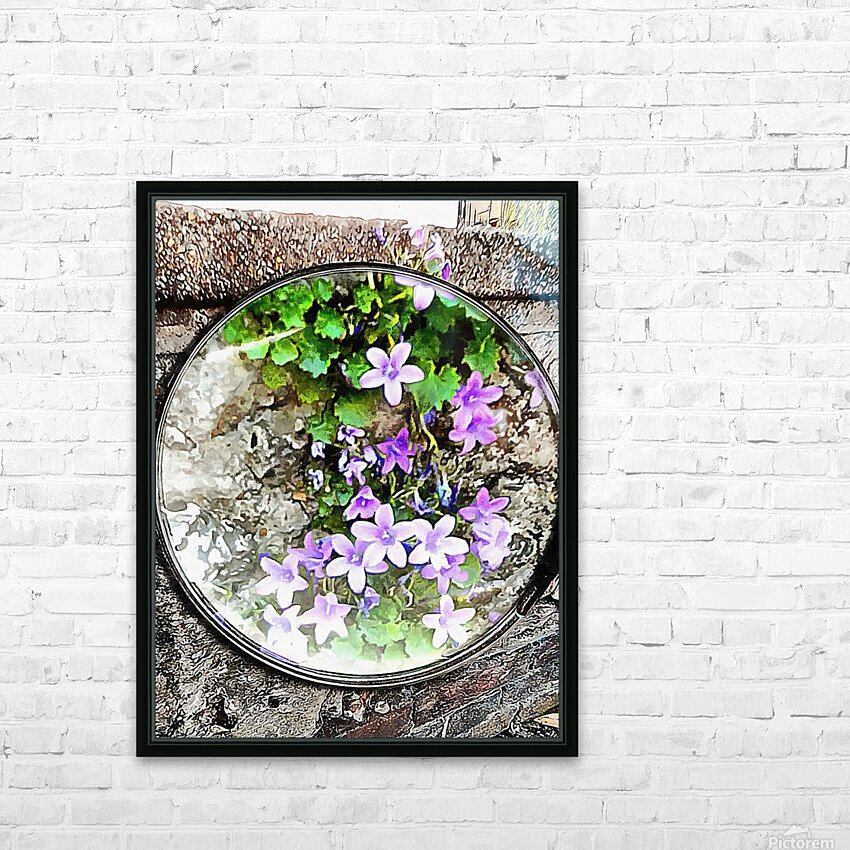 Memories Creep Through The Cracks HD Sublimation Metal print with Decorating Float Frame (BOX)
