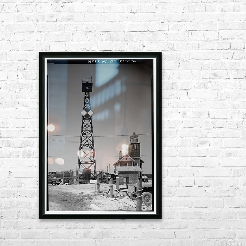 Mispillion-Beacon-Lighthouse-Delaware HD Sublimation Metal print with Decorating Float Frame (BOX)