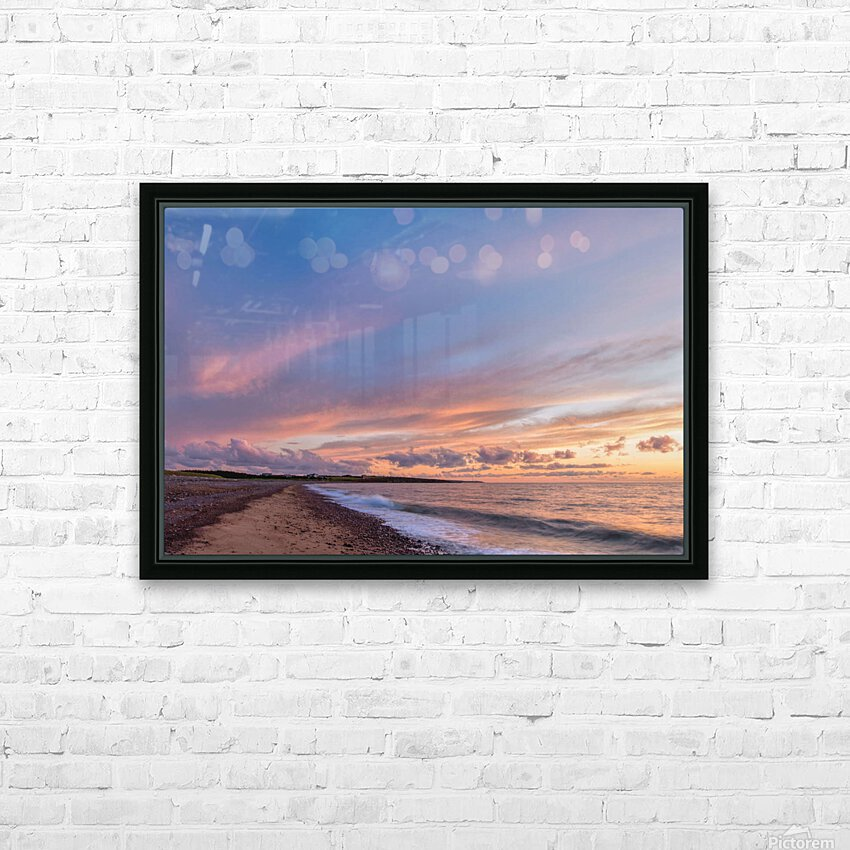 Magic in the Skies HD Sublimation Metal print with Decorating Float Frame (BOX)