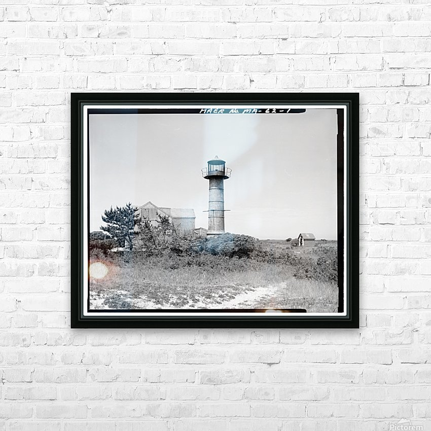 Monomoy-Point-Light-Station-Mass HD Sublimation Metal print with Decorating Float Frame (BOX)