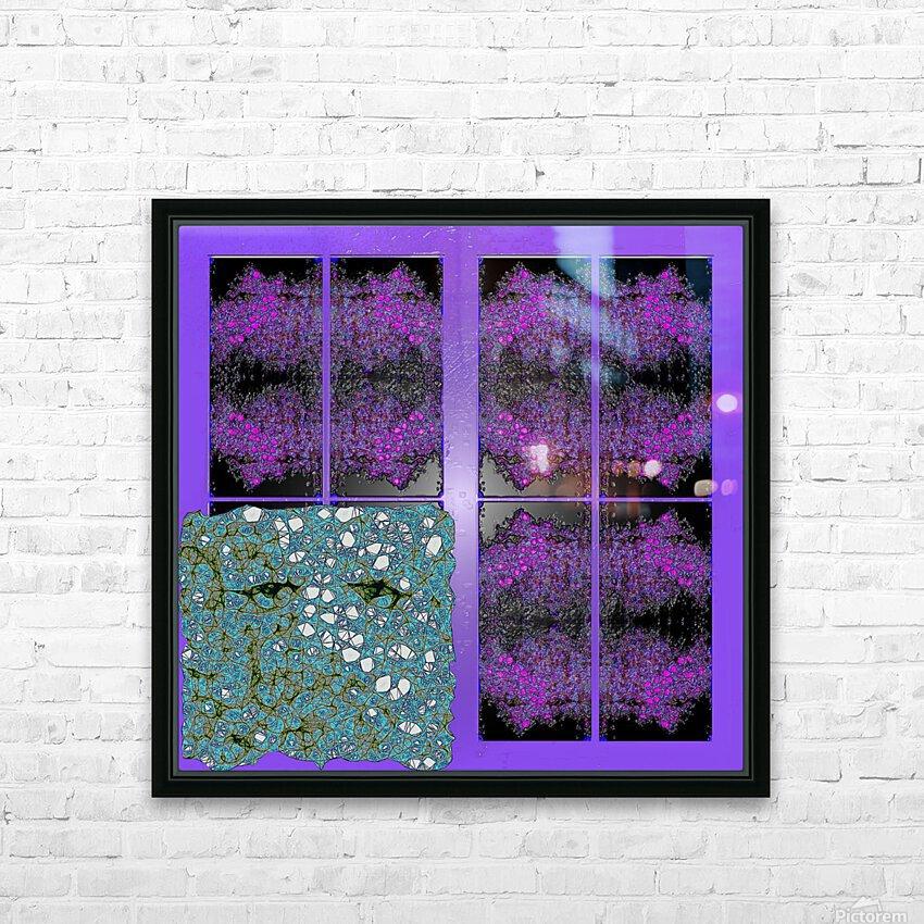 Spiritual Brainwaves HD Sublimation Metal print with Decorating Float Frame (BOX)