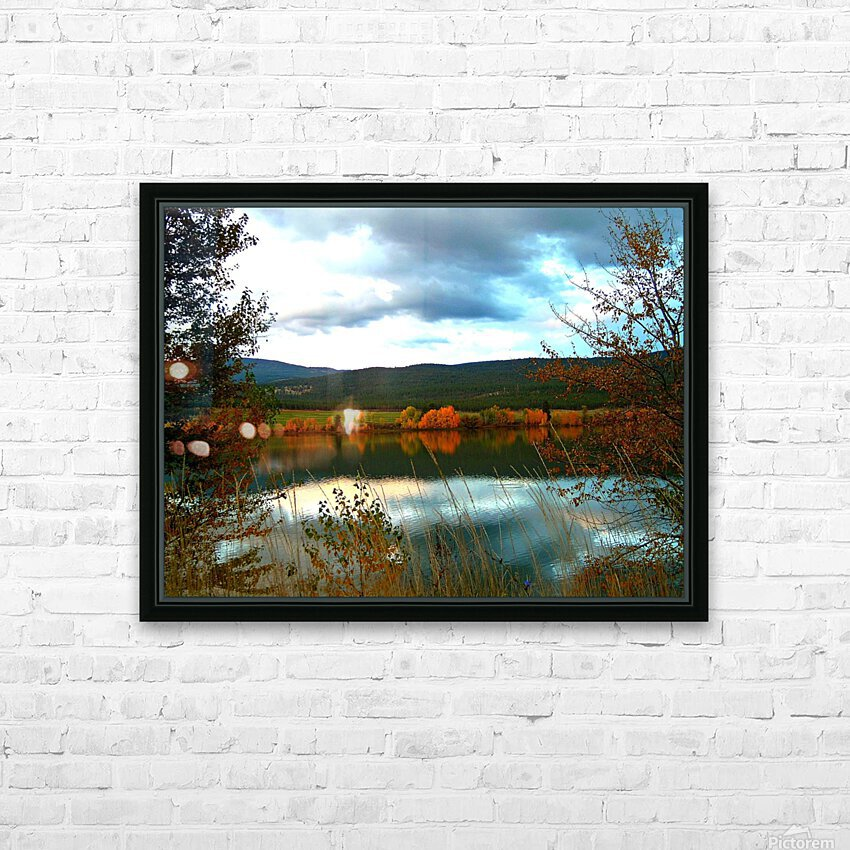 LS031 HD Sublimation Metal print with Decorating Float Frame (BOX)