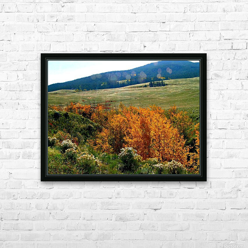 LS028 HD Sublimation Metal print with Decorating Float Frame (BOX)