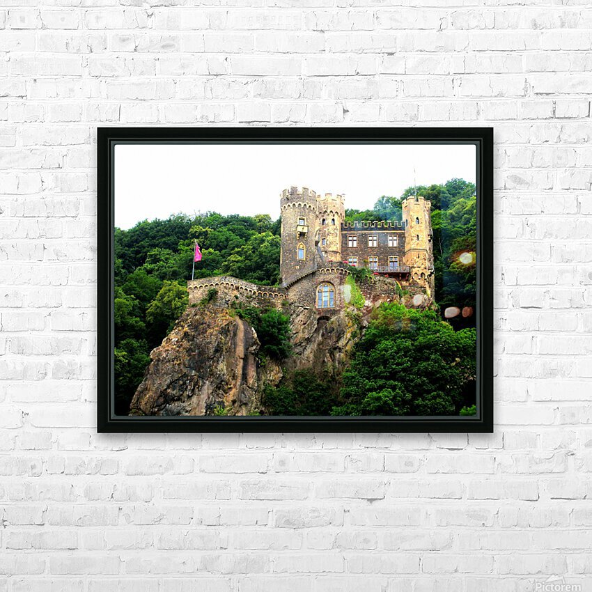 LS055 HD Sublimation Metal print with Decorating Float Frame (BOX)