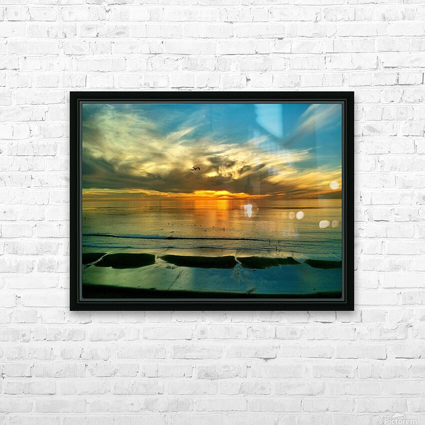 OS002 HD Sublimation Metal print with Decorating Float Frame (BOX)