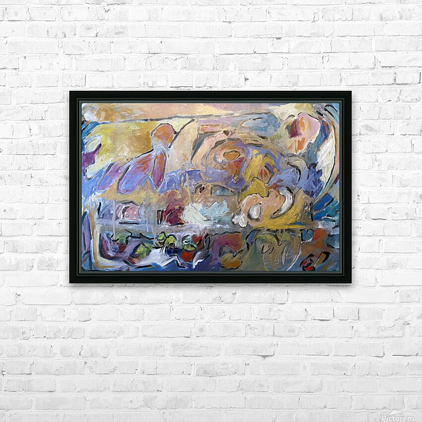 Pompei HD Sublimation Metal print with Decorating Float Frame (BOX)
