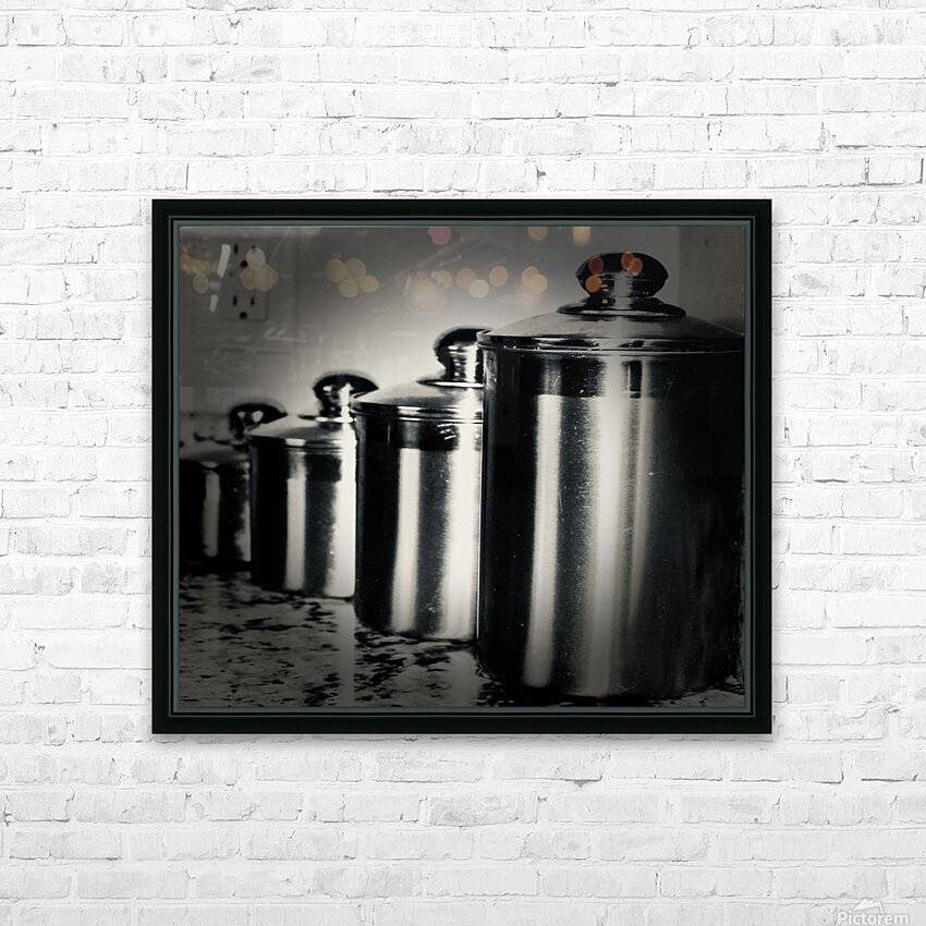 Containers HD Sublimation Metal print with Decorating Float Frame (BOX)