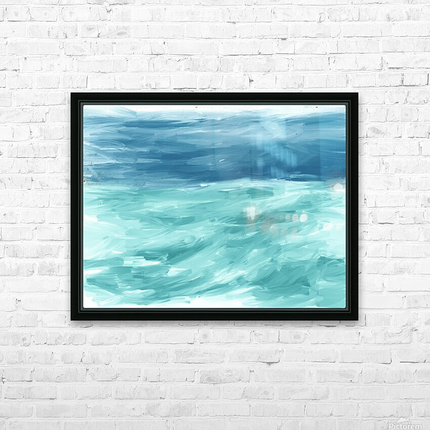 Looking for Swells HD Sublimation Metal print with Decorating Float Frame (BOX)