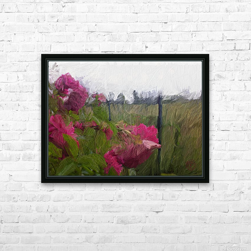 Seeing What Monet Saw HD Sublimation Metal print with Decorating Float Frame (BOX)