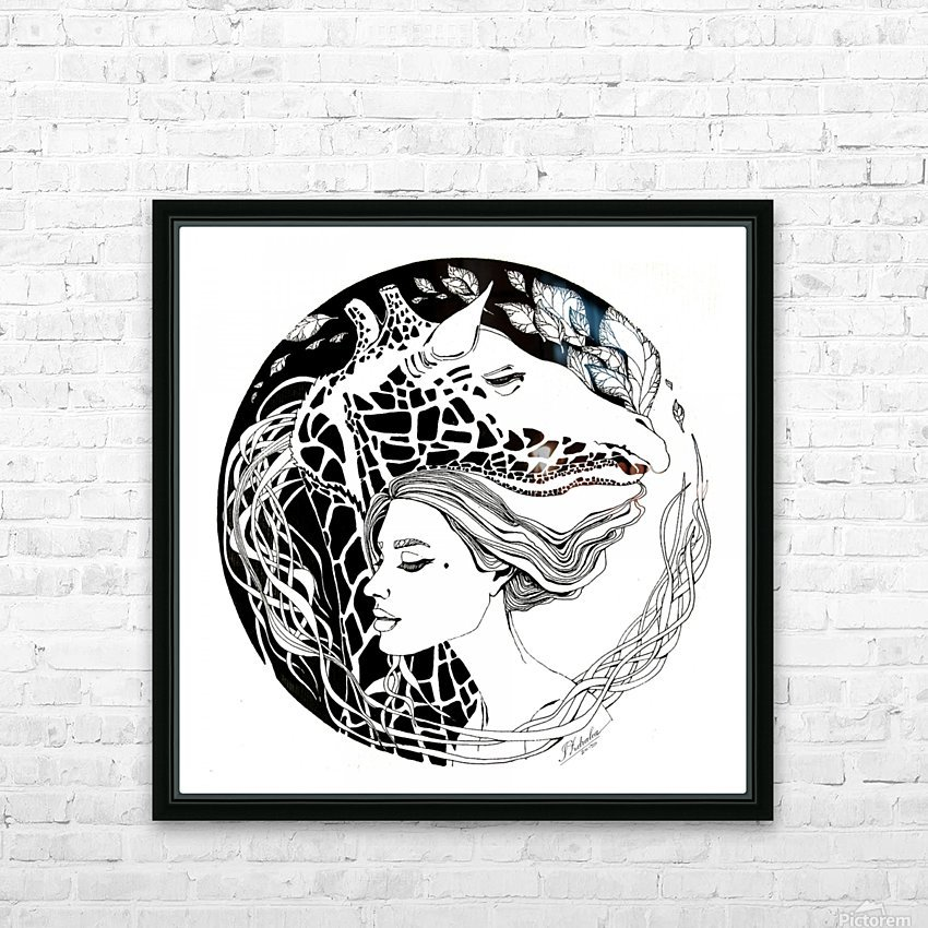 Symbiosis HD Sublimation Metal print with Decorating Float Frame (BOX)
