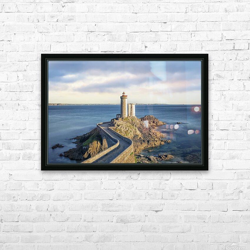 Petit Minou Lighthouse HD Sublimation Metal print with Decorating Float Frame (BOX)
