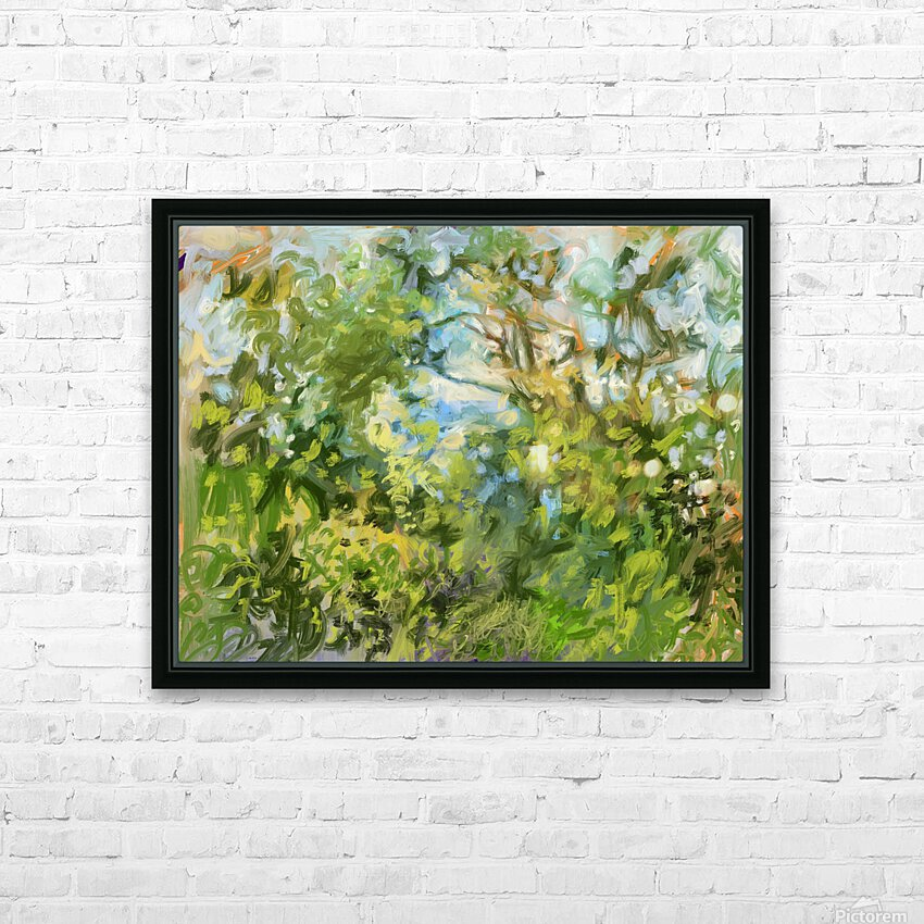 Morning View from my Breakfast Table HD Sublimation Metal print with Decorating Float Frame (BOX)