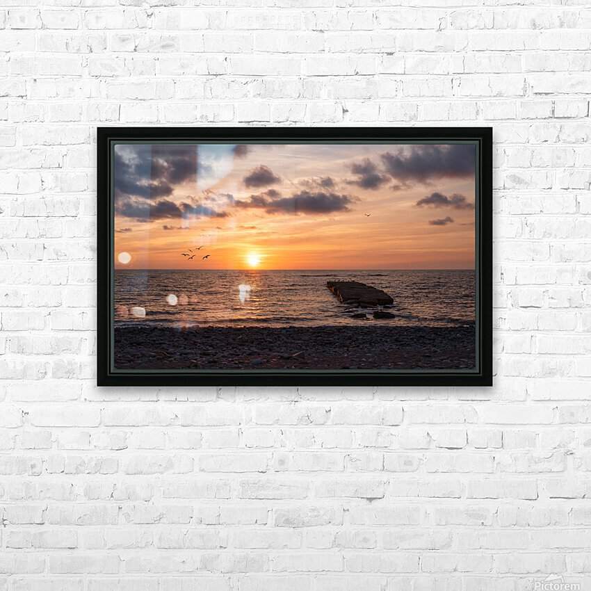Goodnight from la Bloc HD Sublimation Metal print with Decorating Float Frame (BOX)