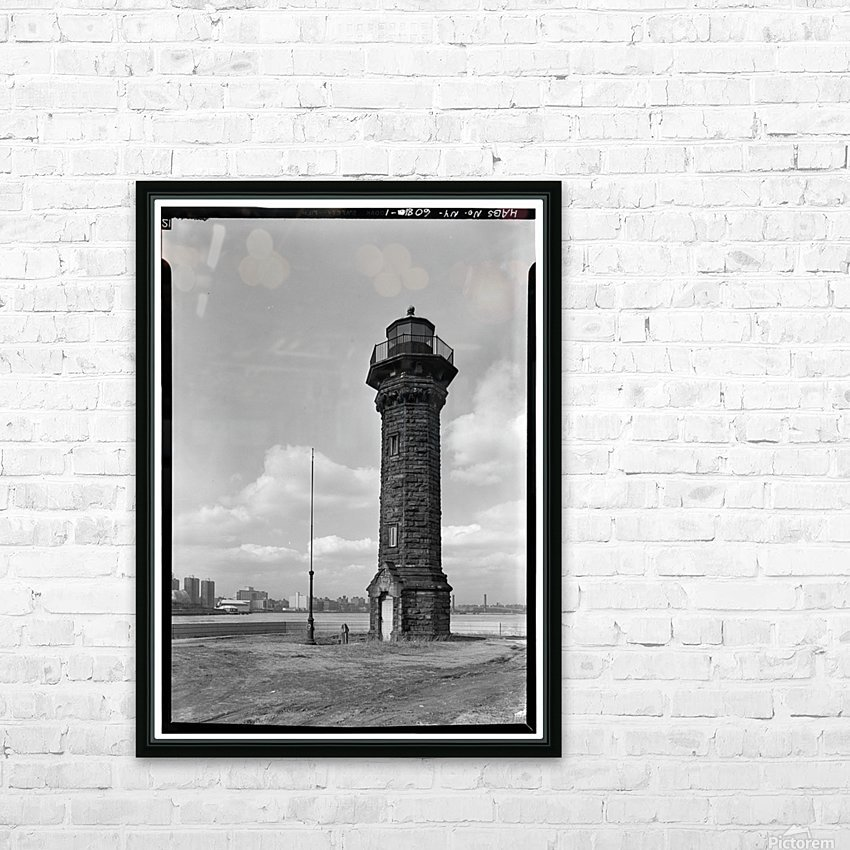 Welfare-Island-Lighthouse-NY HD Sublimation Metal print with Decorating Float Frame (BOX)