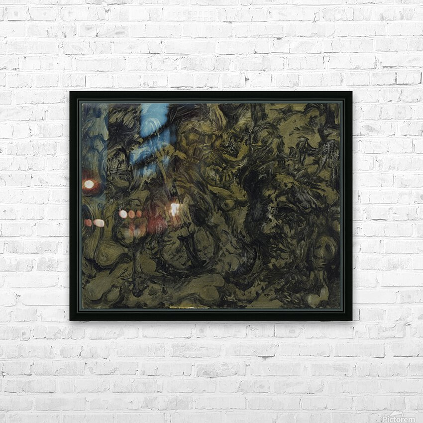 The Arts: Pareidolia HD Sublimation Metal print with Decorating Float Frame (BOX)