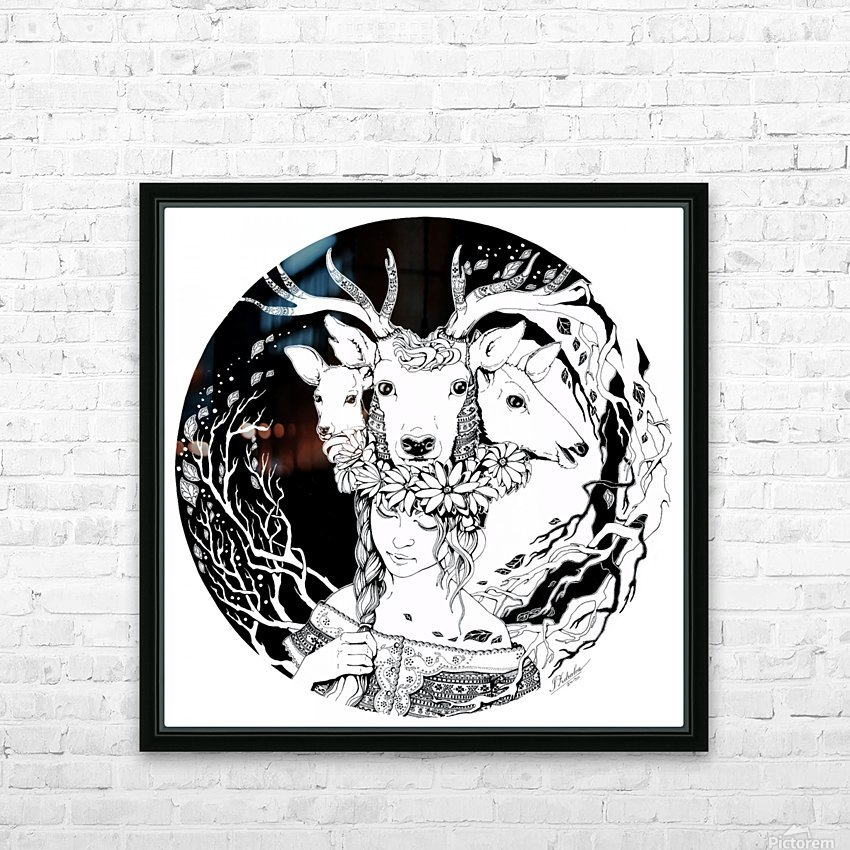 Charpatian Soul HD Sublimation Metal print with Decorating Float Frame (BOX)