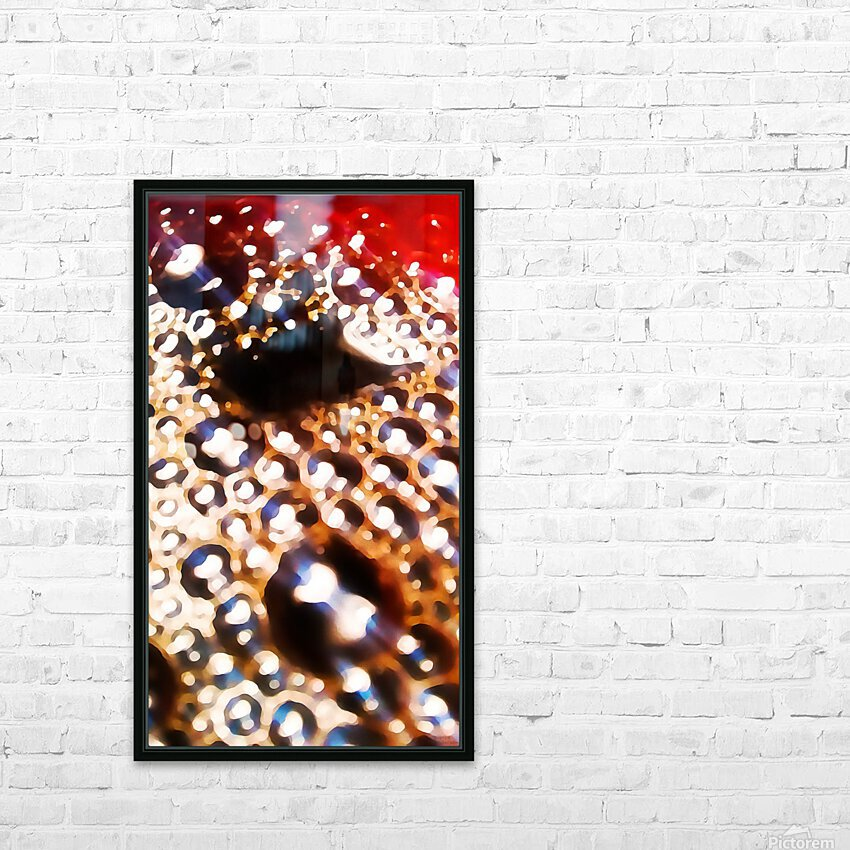 Coffee Time HD Sublimation Metal print with Decorating Float Frame (BOX)