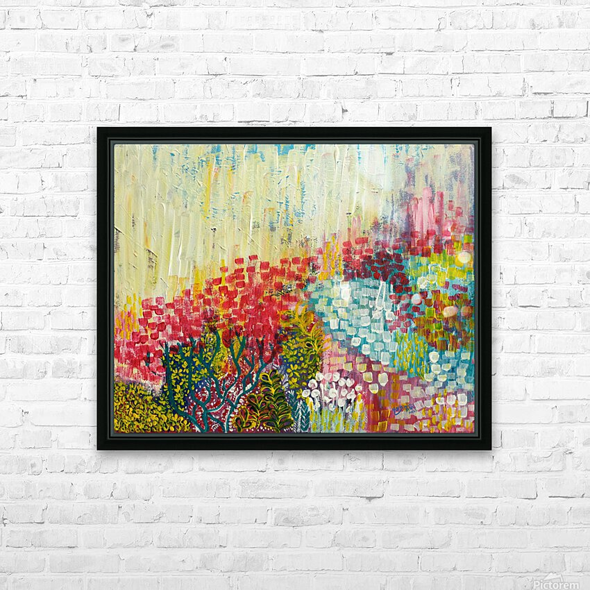 Bloom HD Sublimation Metal print with Decorating Float Frame (BOX)