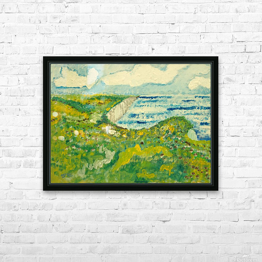 By the Sea HD Sublimation Metal print with Decorating Float Frame (BOX)