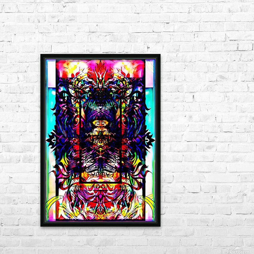 The descent... HD Sublimation Metal print with Decorating Float Frame (BOX)