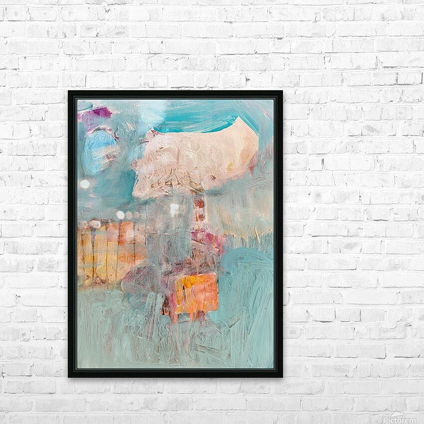 Circus Abstract No1 HD Sublimation Metal print with Decorating Float Frame (BOX)