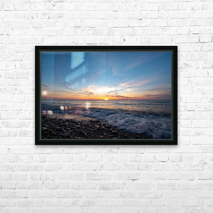 Washed by a Sunset HD Sublimation Metal print with Decorating Float Frame (BOX)