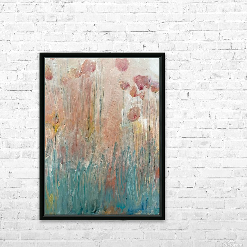 The Garden by Happiness Hill HD Sublimation Metal print with Decorating Float Frame (BOX)