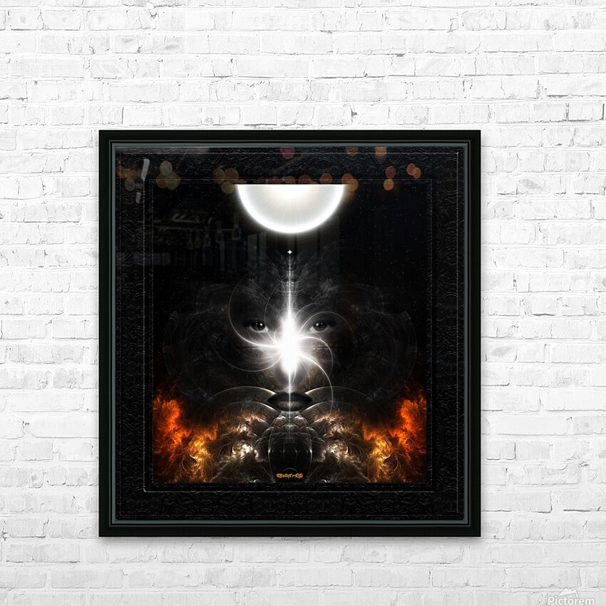 Isis Revealed Mystical Fractal Art Composition by Xzendor7 HD Sublimation Metal print with Decorating Float Frame (BOX)