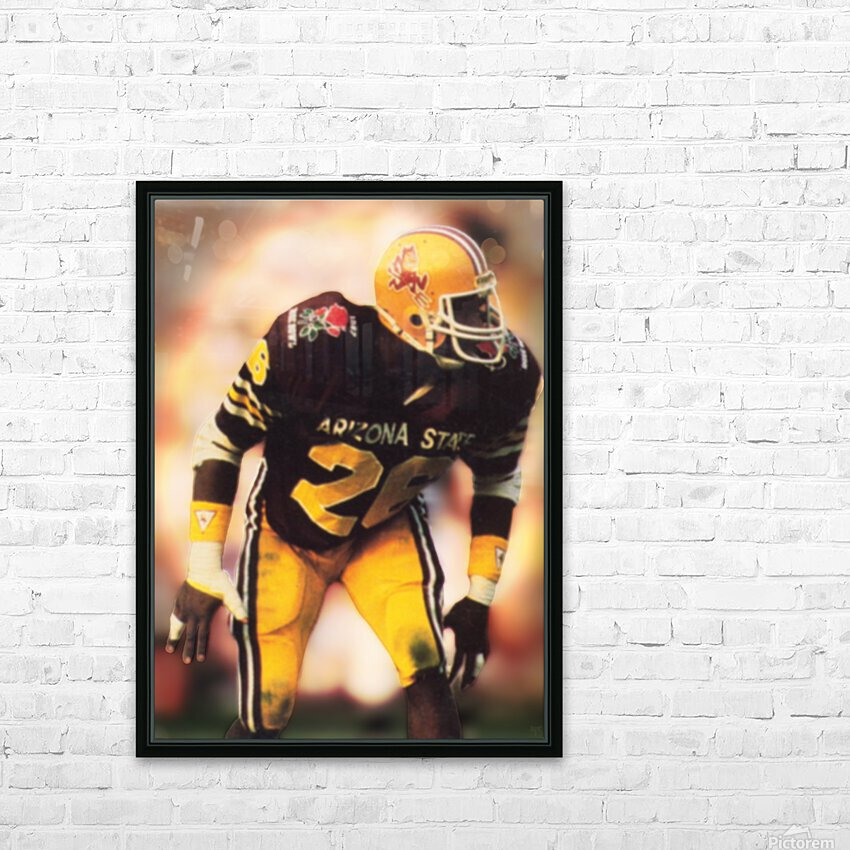 1988 Arizona State Football Art HD Sublimation Metal print with Decorating Float Frame (BOX)