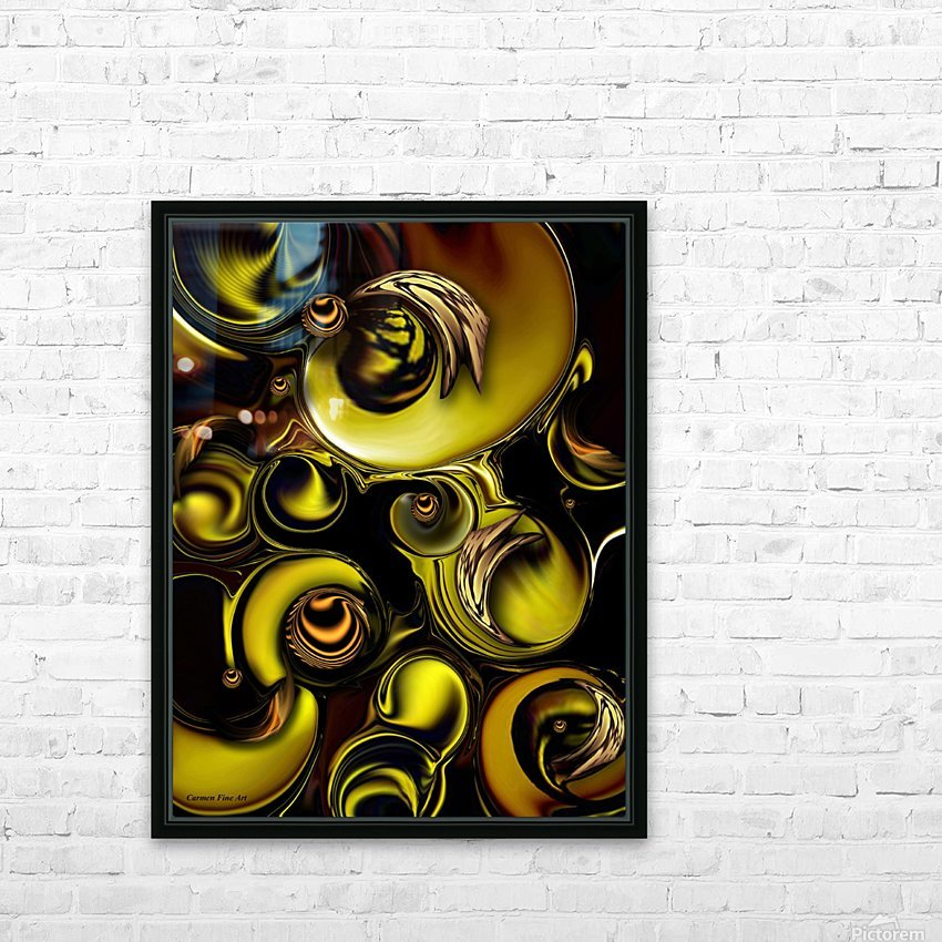 Mechanical Intensity HD Sublimation Metal print with Decorating Float Frame (BOX)