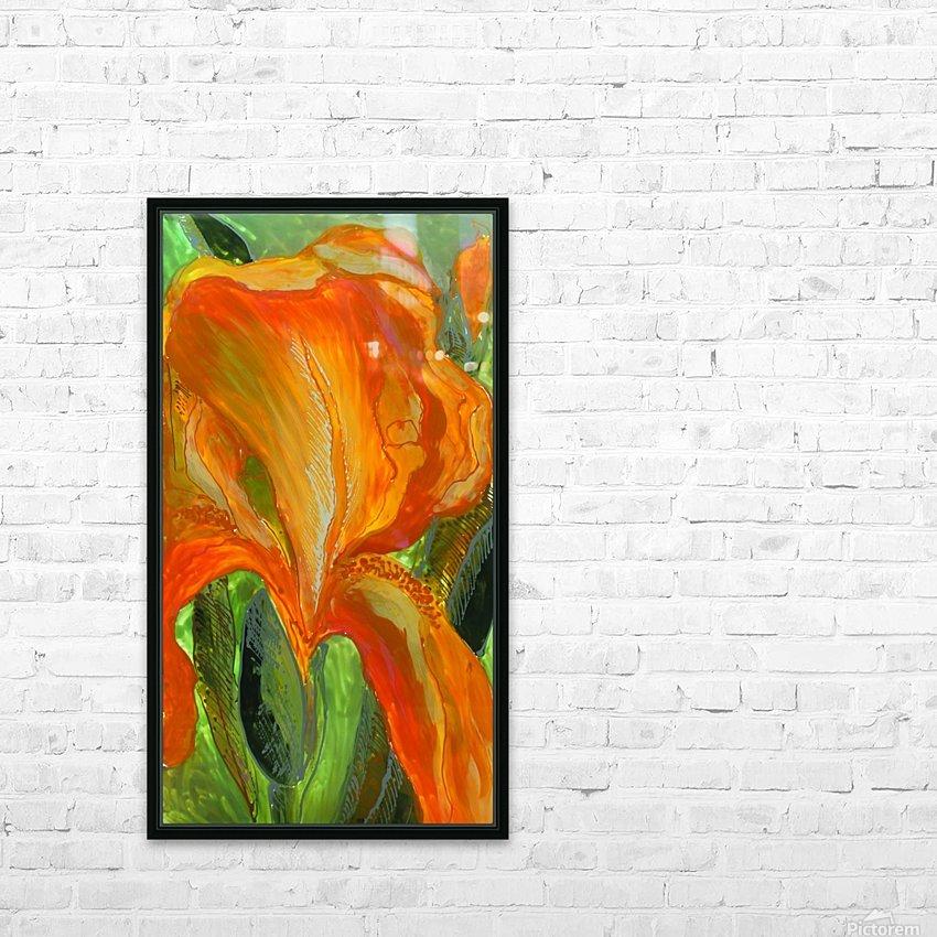 Polyptic with irises 2 by Vali Irina Ciobanu HD Sublimation Metal print with Decorating Float Frame (BOX)