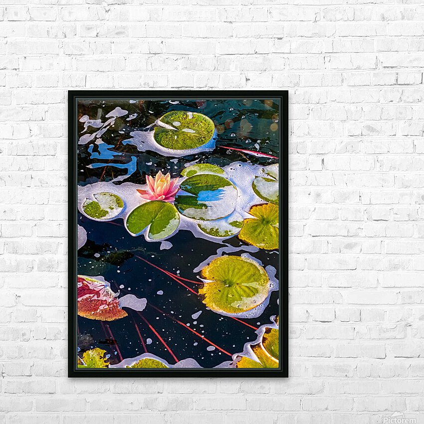 Float Away HD Sublimation Metal print with Decorating Float Frame (BOX)