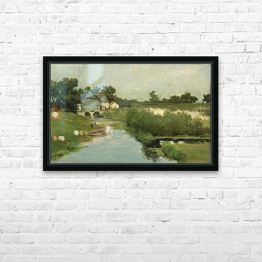 Zomerdag HD Sublimation Metal print with Decorating Float Frame (BOX)
