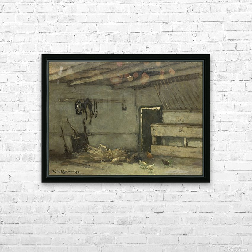 Stalinterieur HD Sublimation Metal print with Decorating Float Frame (BOX)