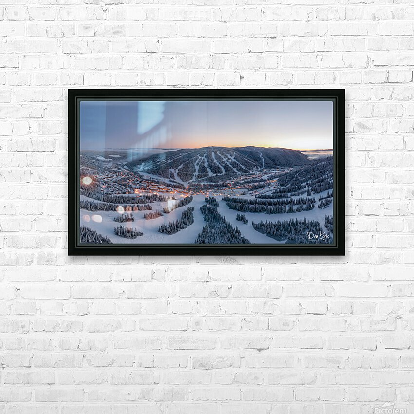 Mo South HD Sublimation Metal print with Decorating Float Frame (BOX)